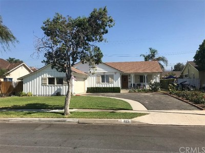 Covina Single Family Home For Sale: 325 E Benbow Street