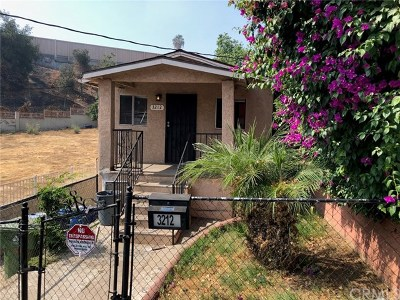 Los Angeles Multi Family Home For Sale: 3212 Oregon Street