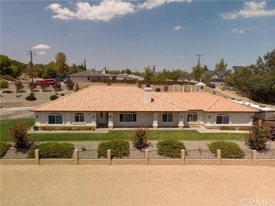 Hesperia Single Family Home For Sale: 18728 Centennial Street