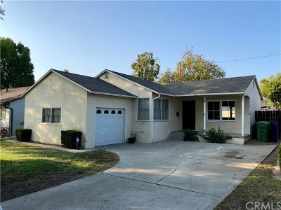 Whittier Single Family Home For Sale: 14743 Anaconda Street