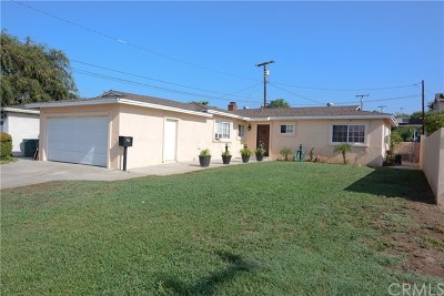 Covina Single Family Home For Sale: 741 E Adams Park Drive