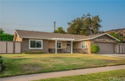 Glendora Single Family Home For Sale: 626 Thornhurst Avenue
