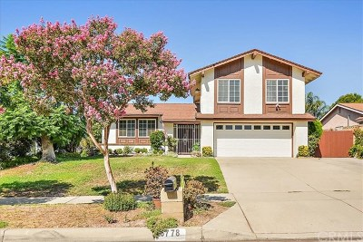 Rancho Cucamonga CA Single Family Home For Sale: $579,900
