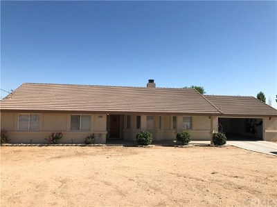 Hesperia Single Family Home For Sale: 16504 Allthorn Street