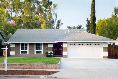Chino Hills Single Family Home For Sale: 3882 Willow Lane