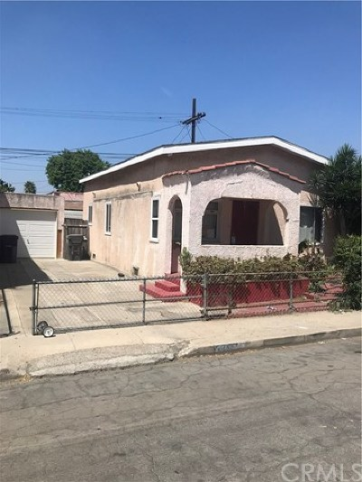Long Beach Single Family Home For Sale: 2249 Baltic Avenue