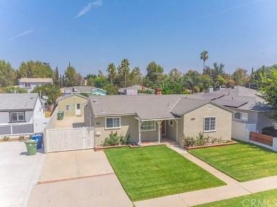 Valley Glen Single Family Home For Sale: 13417 Sylvan Street