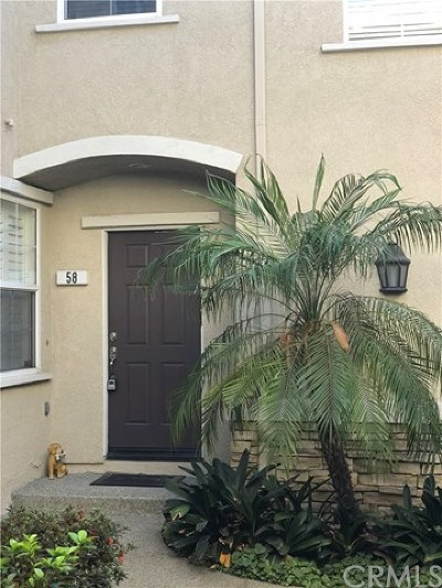 Rancho Cucamonga Condo/Townhouse For Sale: 7353 Ellena W #58