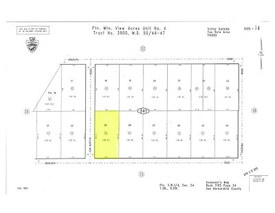 Victorville Residential Lots & Land For Sale: 13970 Bonanza Rd