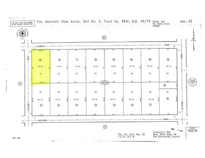 Victorville Residential Lots & Land For Sale: Olancha Rd