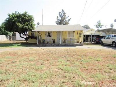 Yucaipa Single Family Home For Sale: 34335 County Line Road