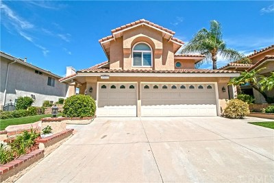 Chino Hills Single Family Home For Sale: 17891 Via Casitas