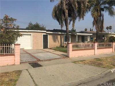 La Puente Single Family Home For Sale: 509 Richburn Avenue
