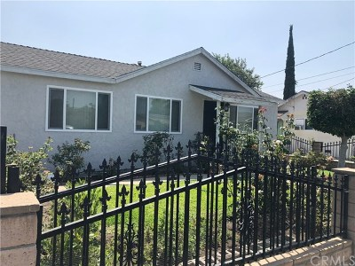 El Monte Single Family Home For Sale: 2224 Caminar Avenue