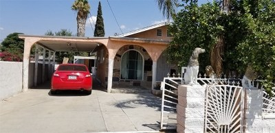 San Bernardino CA Single Family Home For Sale: $219,900