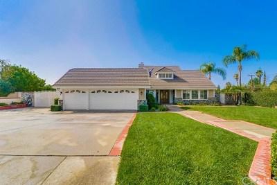Rancho Cucamonga CA Single Family Home For Sale: $869,888
