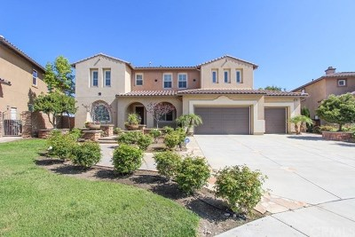 Riverside, Temecula Single Family Home For Sale: 15684 Glendon Creek Court
