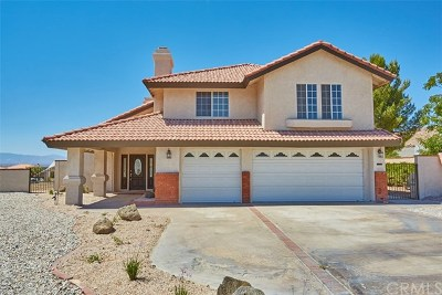Apple Valley Single Family Home For Sale: 16334 Ridge View Drive