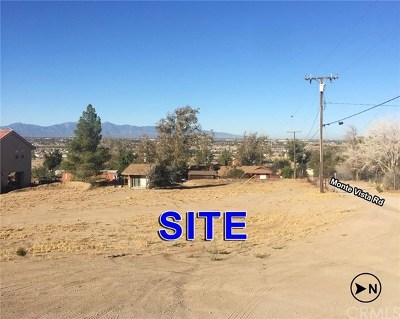 Apple Valley Residential Lots & Land For Sale: Monte Vista Lane