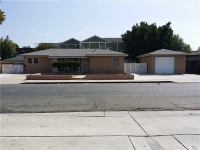 Placentia Single Family Home Active Under Contract: 1008 Wallgreen Street