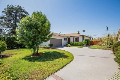 Covina Single Family Home For Sale: 5061 N Nearglen Avenue