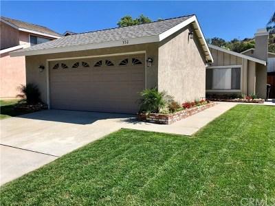 La Verne Single Family Home For Sale: 352 Sun Rose Street