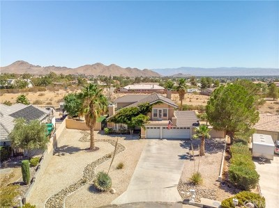Apple Valley Single Family Home For Sale: 16483 Iwa Road