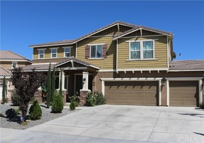 Victorville Single Family Home For Sale: 15867 Iron Canyon Lane