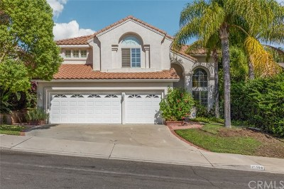 Chino Hills Single Family Home For Sale: 15088 Calle Verano