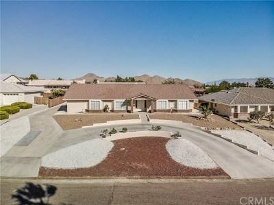 Apple Valley Single Family Home For Sale: 16397 Menahka Road