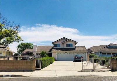 Walnut Single Family Home For Sale: 20391 Portside Drive