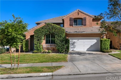 Corona Single Family Home For Sale: 25150 Lemongrass Street