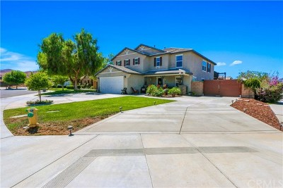 Perris Single Family Home For Sale: 3480 Tallgrass Court