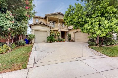Rancho Cucamonga Single Family Home For Sale: 7472 Kenwood Place