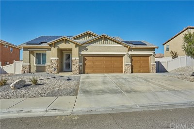 Victorville Single Family Home For Sale: 14434 Chumash