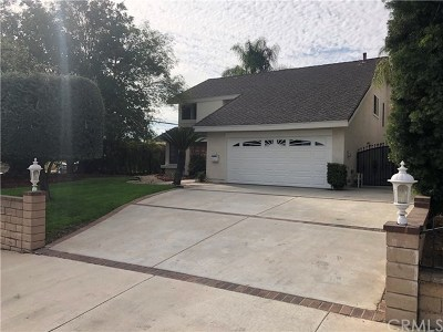 La Habra Single Family Home For Sale: 801 N Palm Street