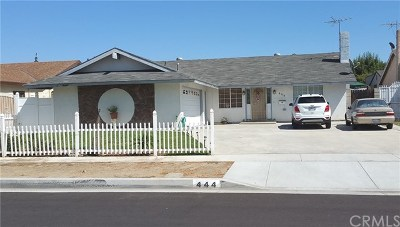 West Covina Single Family Home For Sale: 444 Abelian Avenue