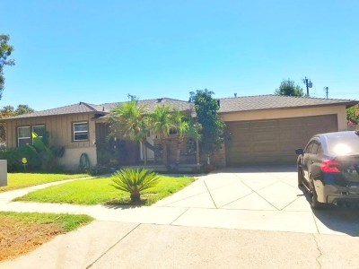 Covina Single Family Home For Sale: 20630 E Stephanie Drive