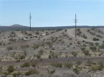 Barstow Residential Lots & Land For Sale: Pipeline Road