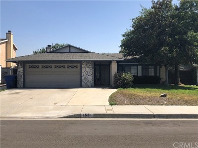 San Bernardino Single Family Home For Sale: 155 San Anselmo Avenue