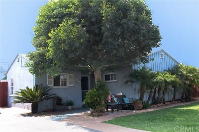 Azusa Single Family Home For Sale: 268 S Noble Place