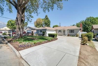 Rancho Cucamonga Single Family Home Active Under Contract: 8195 London Avenue
