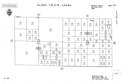 Adelanto Residential Lots & Land For Sale: C Avenue