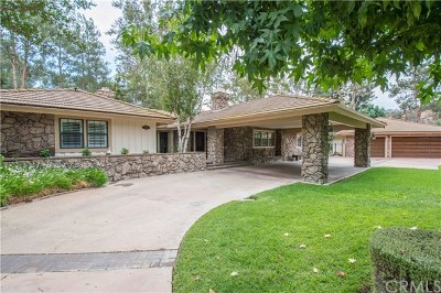 Chino Hills Single Family Home For Sale: 1297 Highland Pass Road