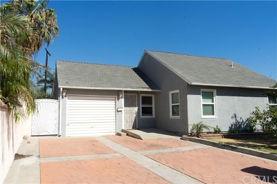 Azusa Single Family Home For Sale: 340 S Sunset Avenue