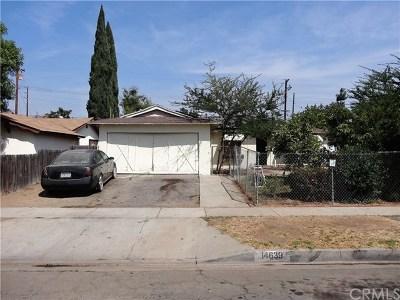 La Puente Single Family Home For Sale: 14639 Rath Street
