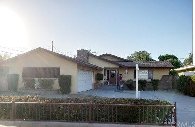 Pomona Single Family Home For Sale: 2051 Armour Street