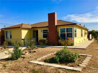 San Gabriel Single Family Home For Sale: 8636 E Broadway