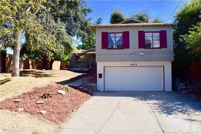 Altadena Single Family Home For Sale: 3274 Olive Avenue