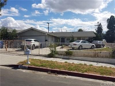 Sylmar Single Family Home For Sale: 11940 Kathyann Street